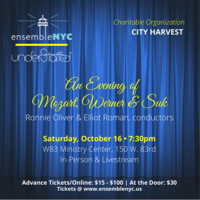 An Evening of Mozart, Werner & Suk in Brooklyn