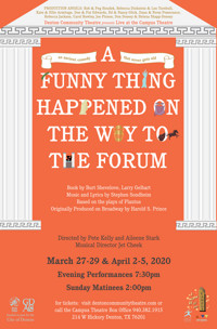 A Funny Thing Happened On The Way To The Forum in Dallas