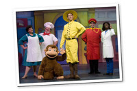 Curious George and the Golden Meatball in Broadway