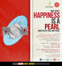 HAPPINESS IS A PEARL in Broadway