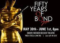 Fifty Years of Bond in Houston