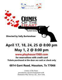 CRIMES OF THE HEART in Houston