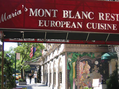 Mont Blanc Restaurant (previously known as Luxia)