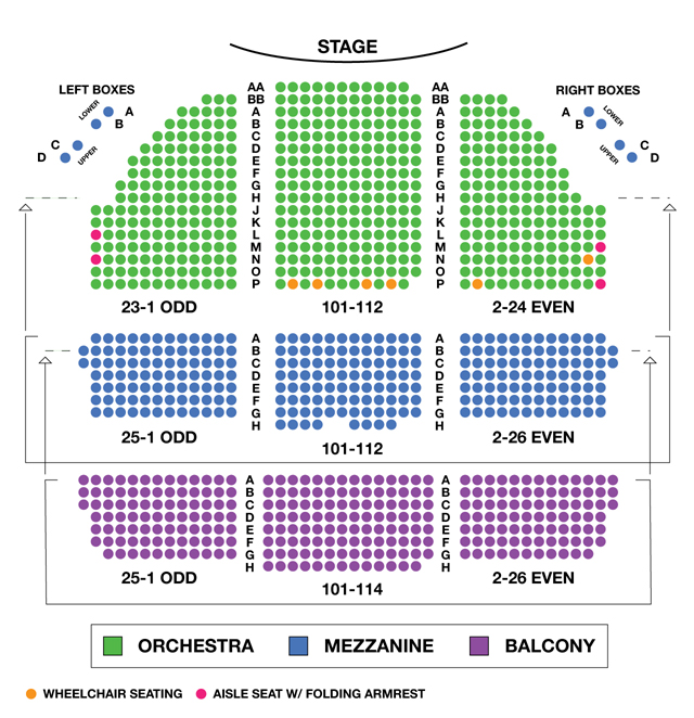 Cort theatre broadway seating charts
