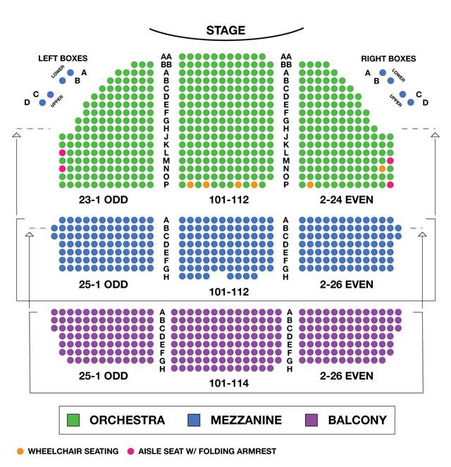 Cort Theatre Broadway Seating Chart