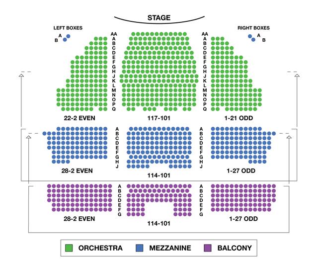 Longacre Theatre Broadway Seating Chart