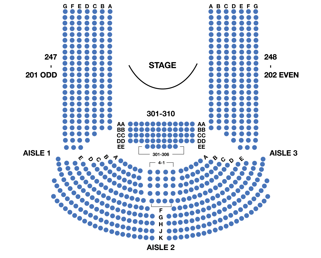 Circle in the Square Theatre Broadway Seating Chart Large