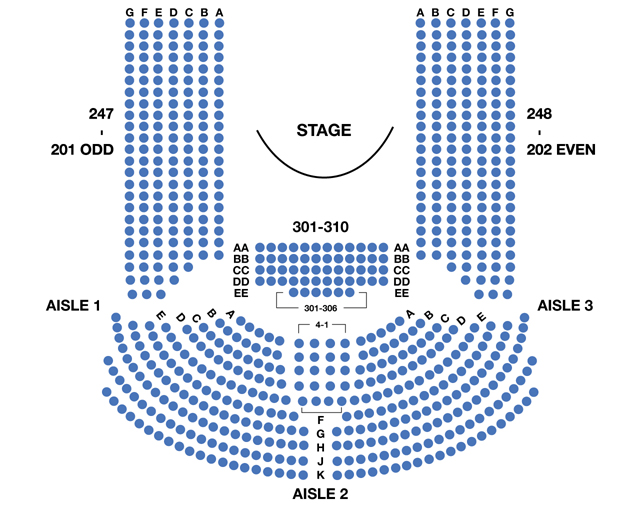 Circle in the Square Theatre Broadway Seating Chart