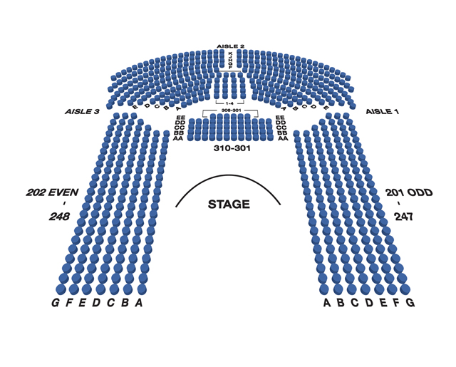Circle in the Square (Broadway) Seating Chart
