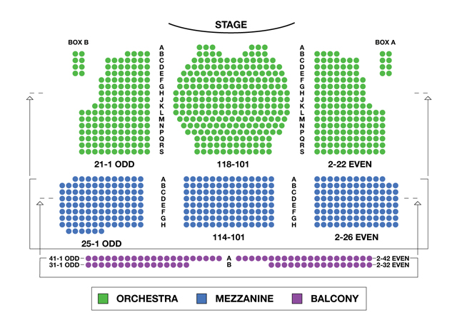 Walter Kerr Theatre Broadway Seating Charts Broadwayworld