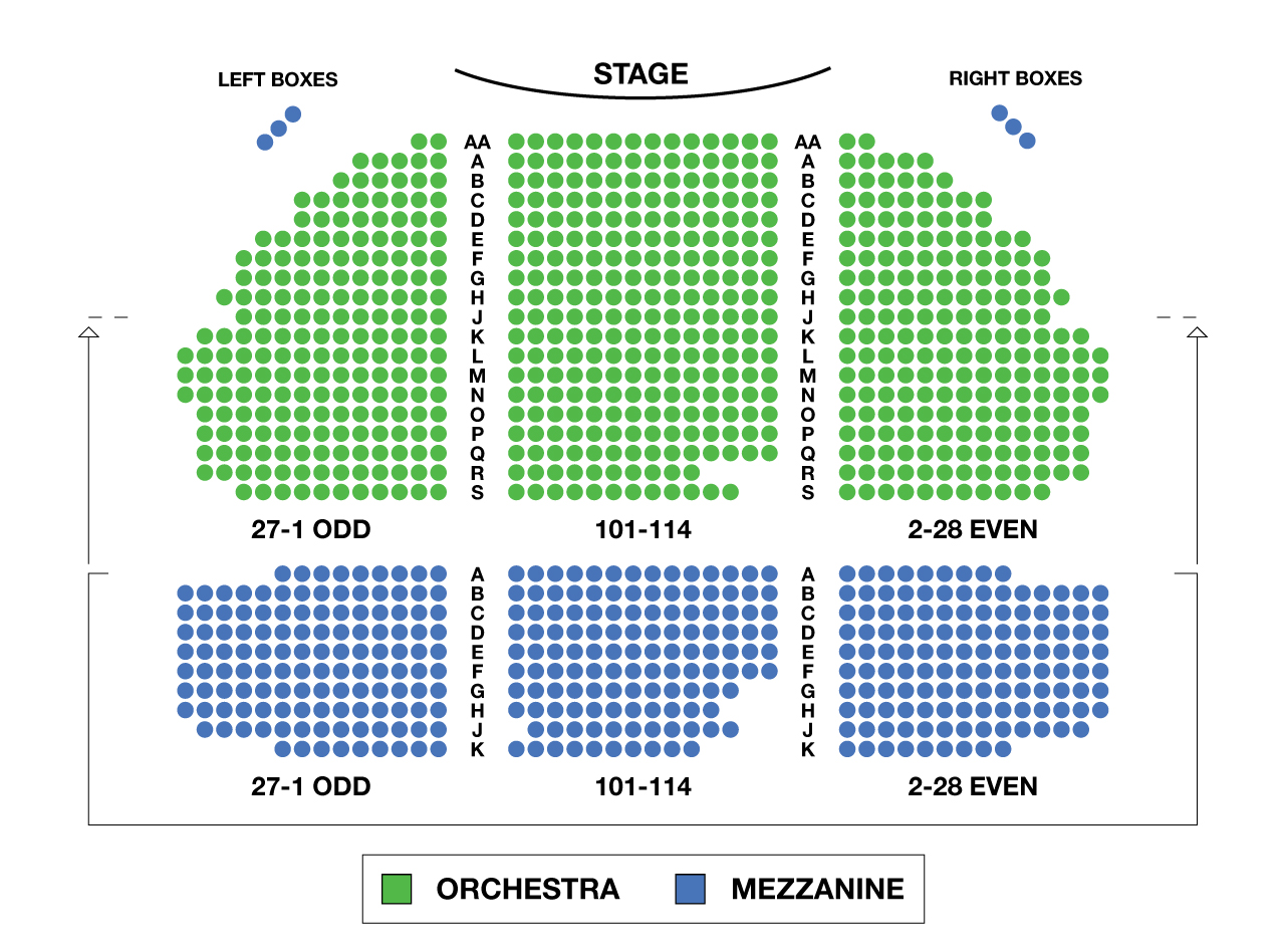 Schoenfeld theatre seating chart gerald schoenfeld for Broadway plan