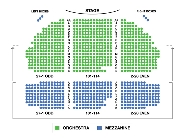 Gerald Schoenfeld Theatre Broadway Seating Chart