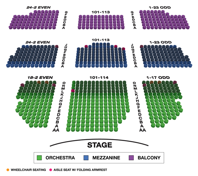 Lyceum Theatre Broadway 3D Seating Chart