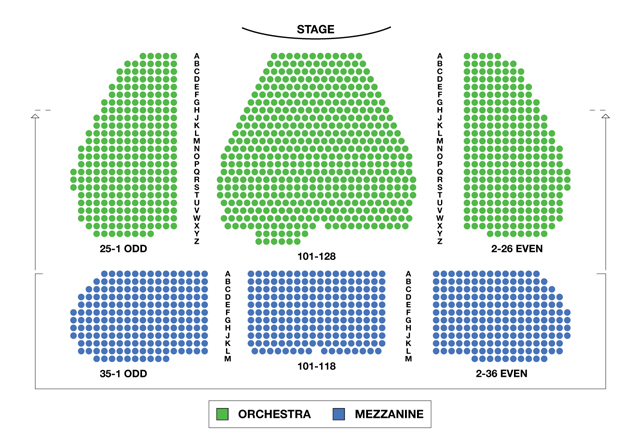 Marquis Theatre Broadway Seating Chart