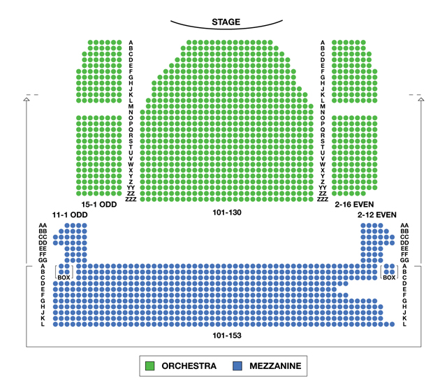 Minskoff Theatre Broadway Seating Charts