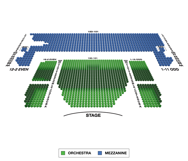 Minskoff Theatre Broadway 3D Seating Chart