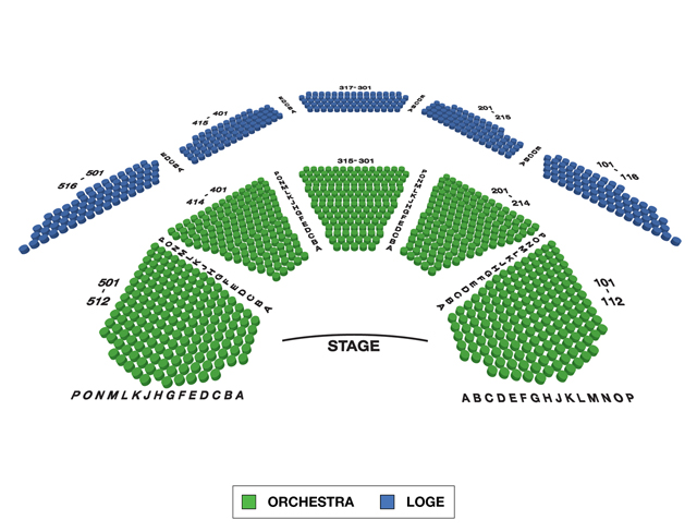 Vivian Beaumont Theatre (Broadway) Seating Chart
