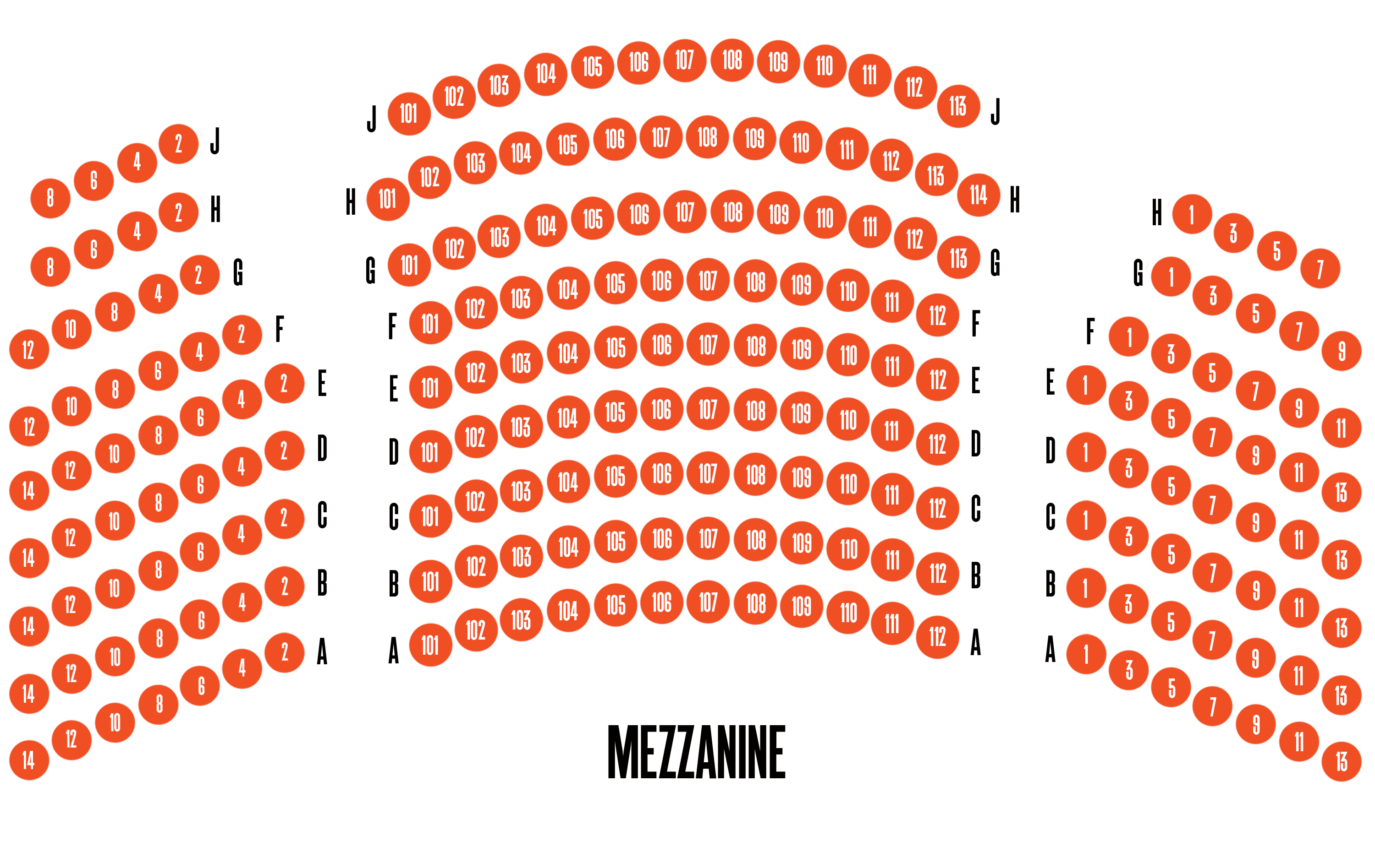 Helen Hayes Theatre Broadway Seating Charts