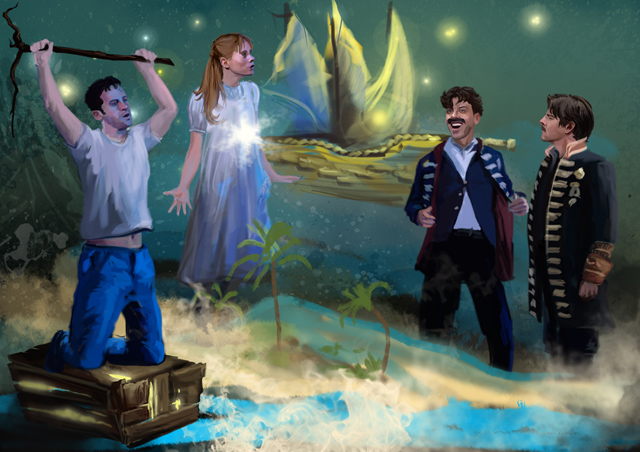 PETER AND THE STARCATCHER Stage Art 640