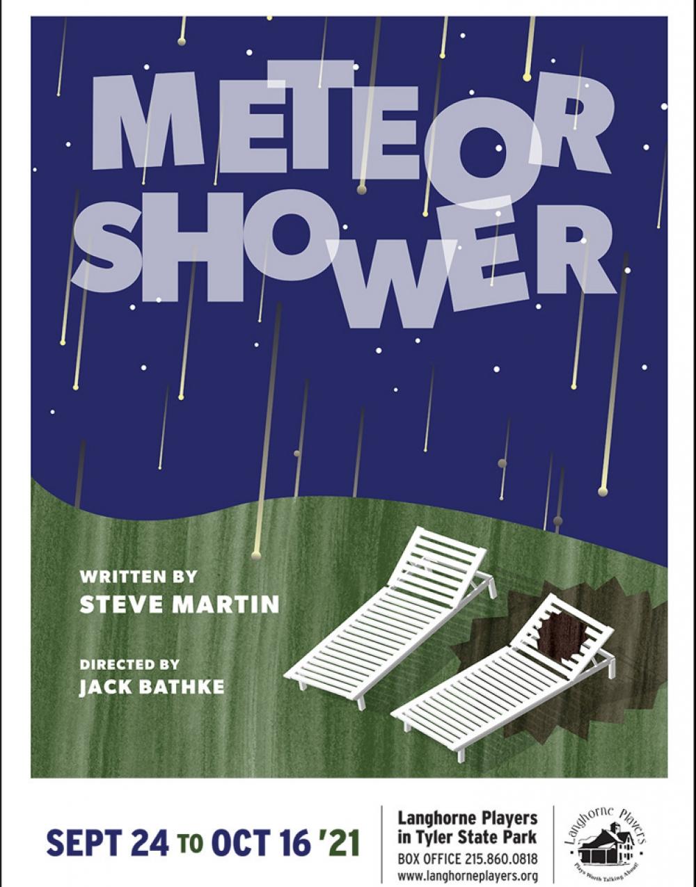 Meteor Shower at Langhorne Players