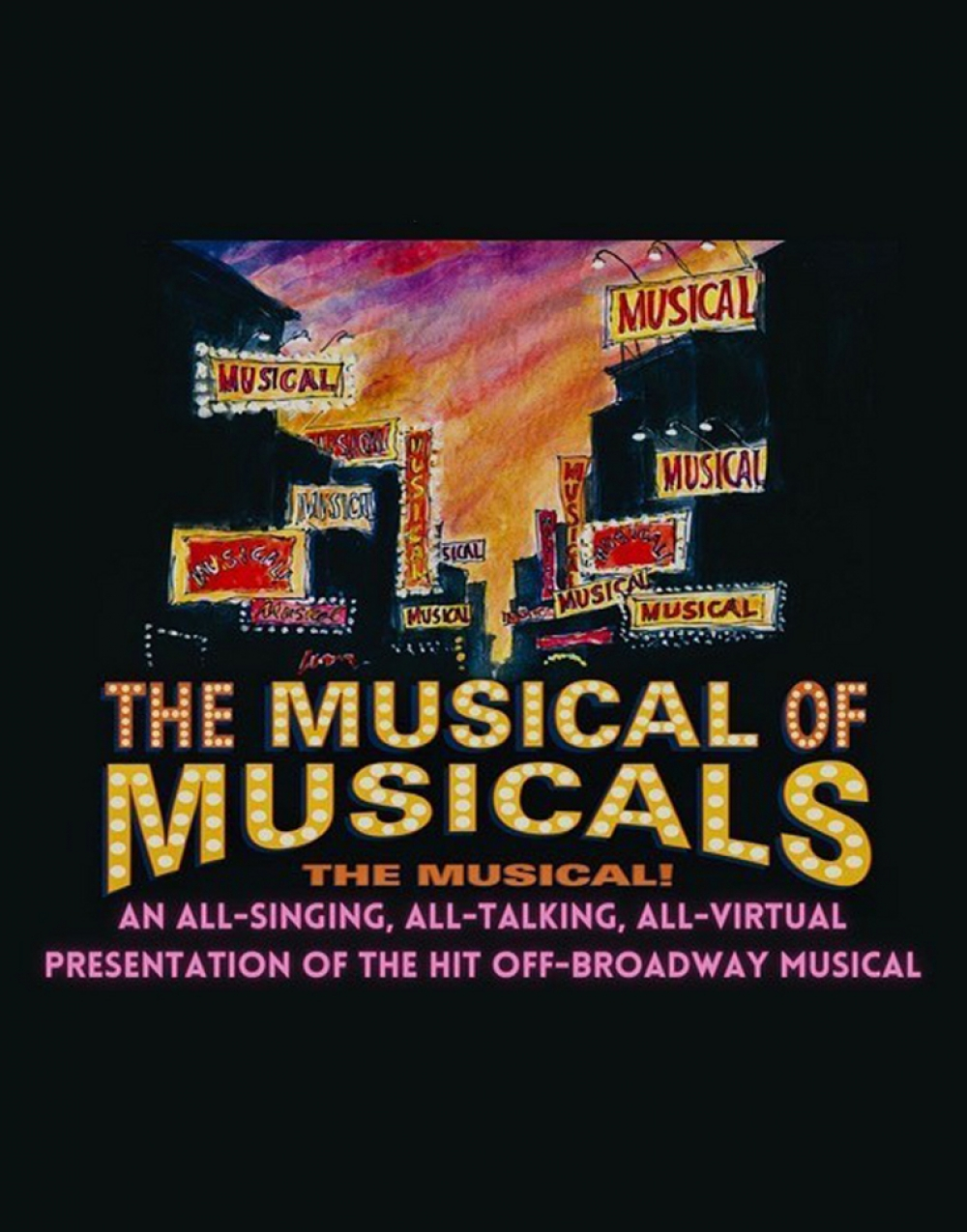 THE MUSICAL OF MUSICALS (THE MUSICAL!)…and More! at York Theatre Company