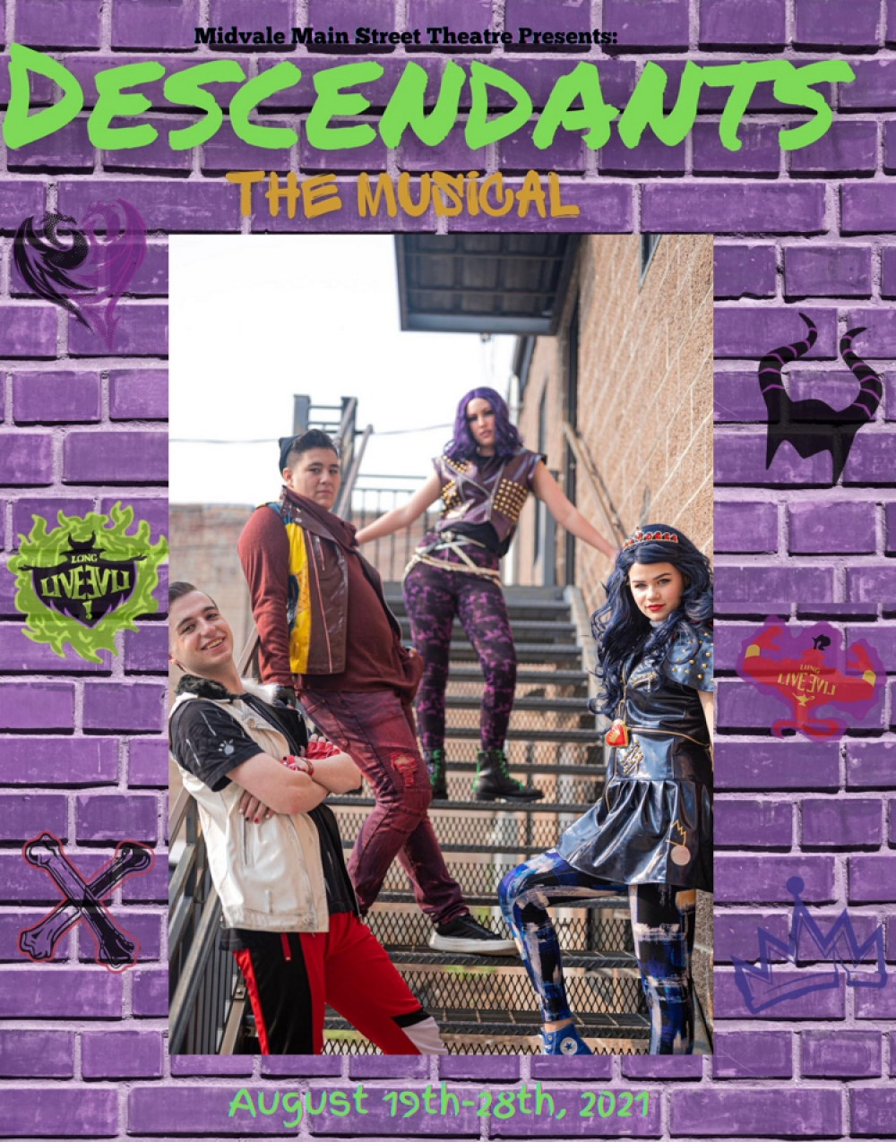 Descendants the Musical at Midvale Main Street Theatre
