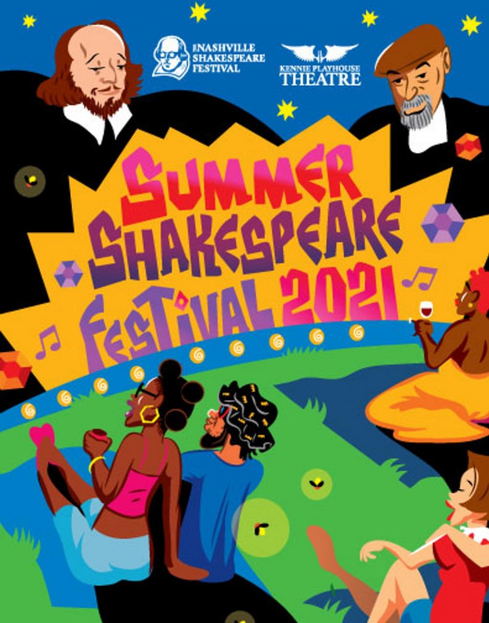 Summer Shakespeare Festival 2021- Shakespeare's Twelfth Night at Nashville Shakespeare Festival