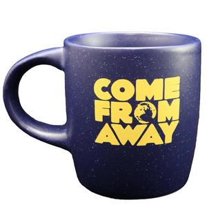 Come From Away Speckled Blue Logo Mug