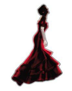 Pretty Woman Lapel Pin