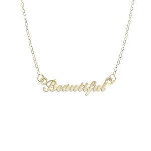 Beautiful Logo Necklace