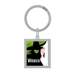 Wicked Framed Keyart Keychain