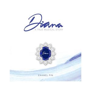 Diana Sapphire Pin
