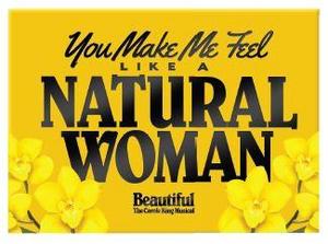 Beautiful Natural Woman Magnet