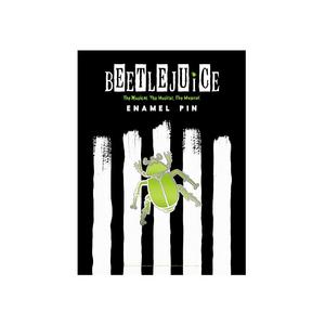 Beetlejuice Beetle Enamel Pin