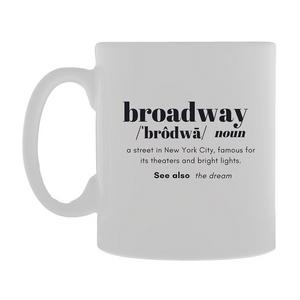 Broadway Definition Mug