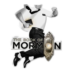 Book of Mormon Acrylic Jumping Mormon Magnet