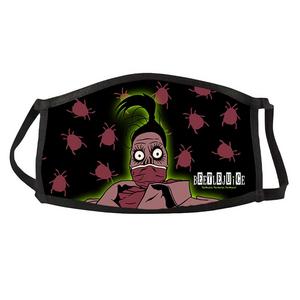 Beetlejuice Shrunken Head Face Mask