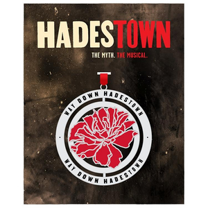 Hadestown Flower Spinner Ornament