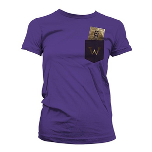 Charlie and the Chocolate Factory Women's Golden Ticket Tee