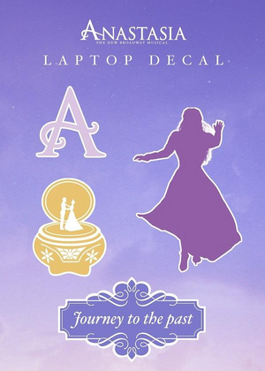 Anastasia Decal Stickers