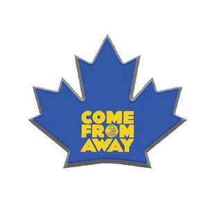 Come From Away Blue Leaf Pin