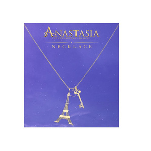 Anastasia Paris Key Heart Necklace