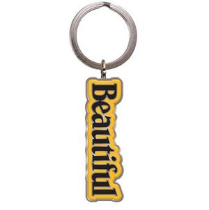 Beautiful Title Keychain