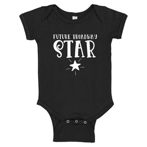 Future Broadway Star Baby Onesie
