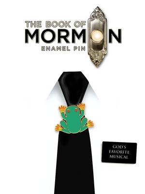 Book of Mormon Frog Enamel Pin