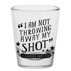 Hamilton Shot Glass