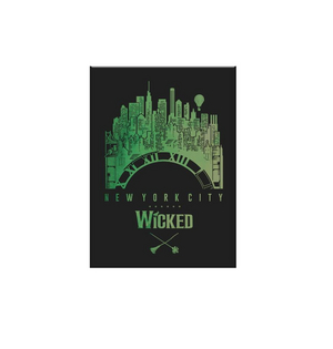 Wicked NYC Clock Magnet