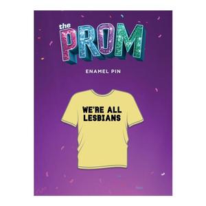 The Prom Enamel T-shirt Pin