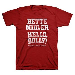 Hello Dolly! Bette Midler Logo Tee