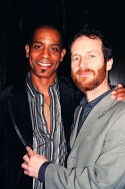 Denis O'Hare and partner Hugo Redwood